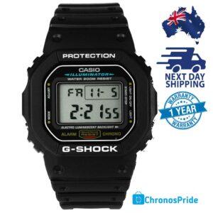 CASIO G-Shock Digital Watch Black DW-5600E-1VDF
