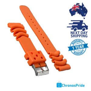 D shroud-orange strap