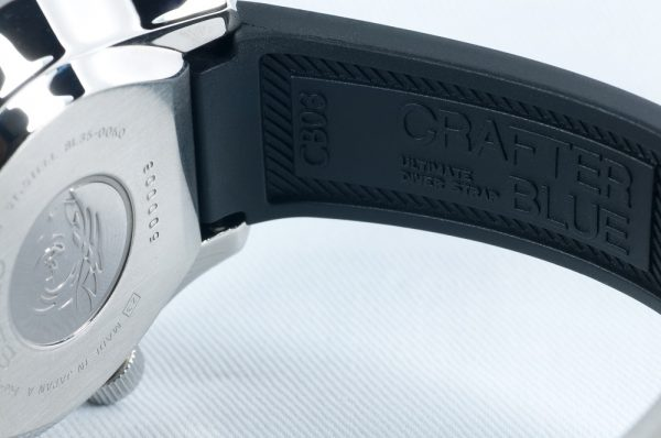 Curved End Rubber Strap for Seiko MarineMaster 300m (CB03)